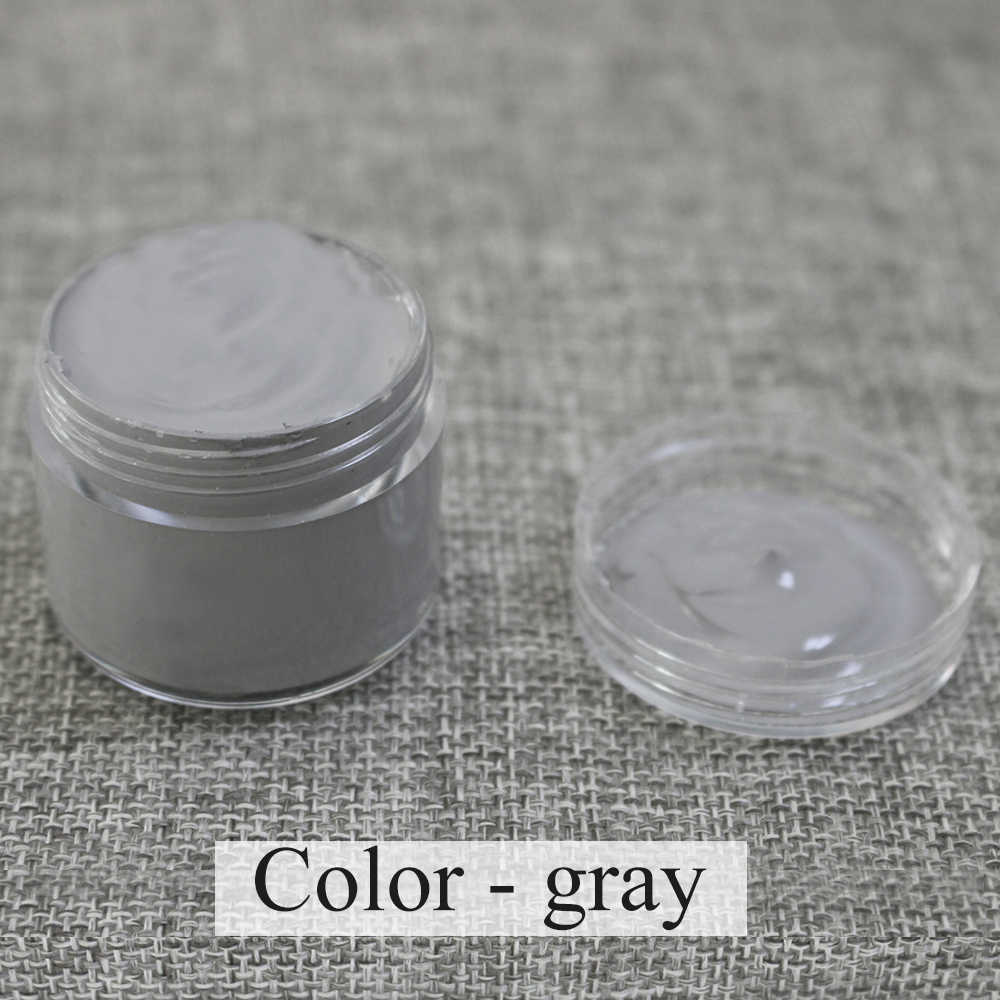 Gray Leather Coloring Paste 30ml Used for Leather Sofa,Bag,Clothing,Shoe,All Leather Products Can Be Applied ToRepair Color