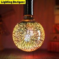 G125 3D Edison Bulb Led 220V 4W Light Retro Saving Lamp Vintage Edison Ampul Lamp Led