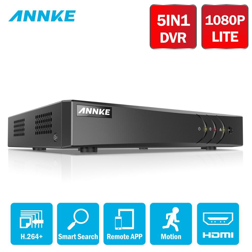 ANNKE 8CH 1080N 720P Video Surveillance Recorder 5in1 DVR Smart Playback Network HD H.264+ DVR HDMI CCTV Security Camera System
