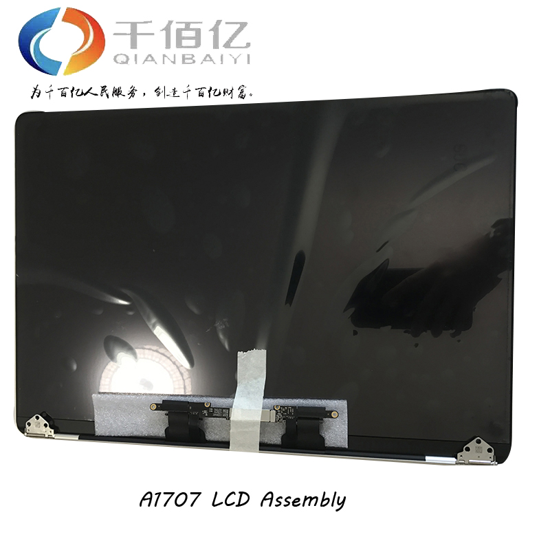 Genuine New Grey Silver Color A1707 LCD Display Assembly 2016 2017 for Macbook Pro Retina 15 A1707 LCD Screen Complete Assembly