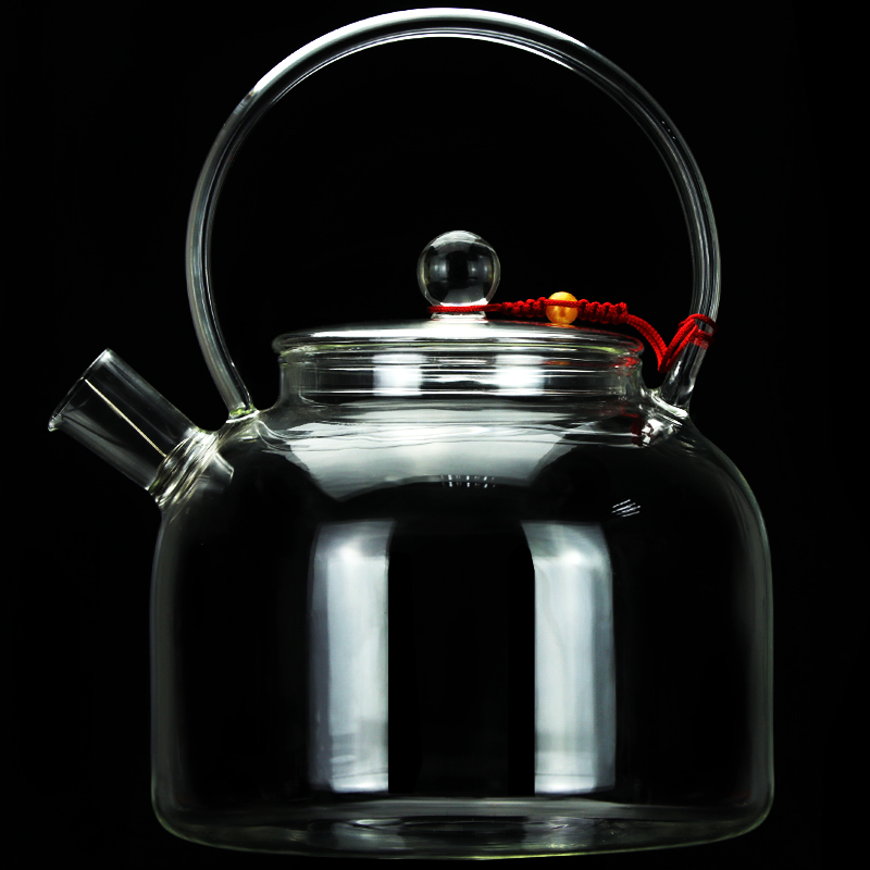 Высокая емкость холодный чайник стеклянная высокотемпературная бутылка для холодной воды стакан для фруктового сока жаростойкая Бытовая бутылка для воды