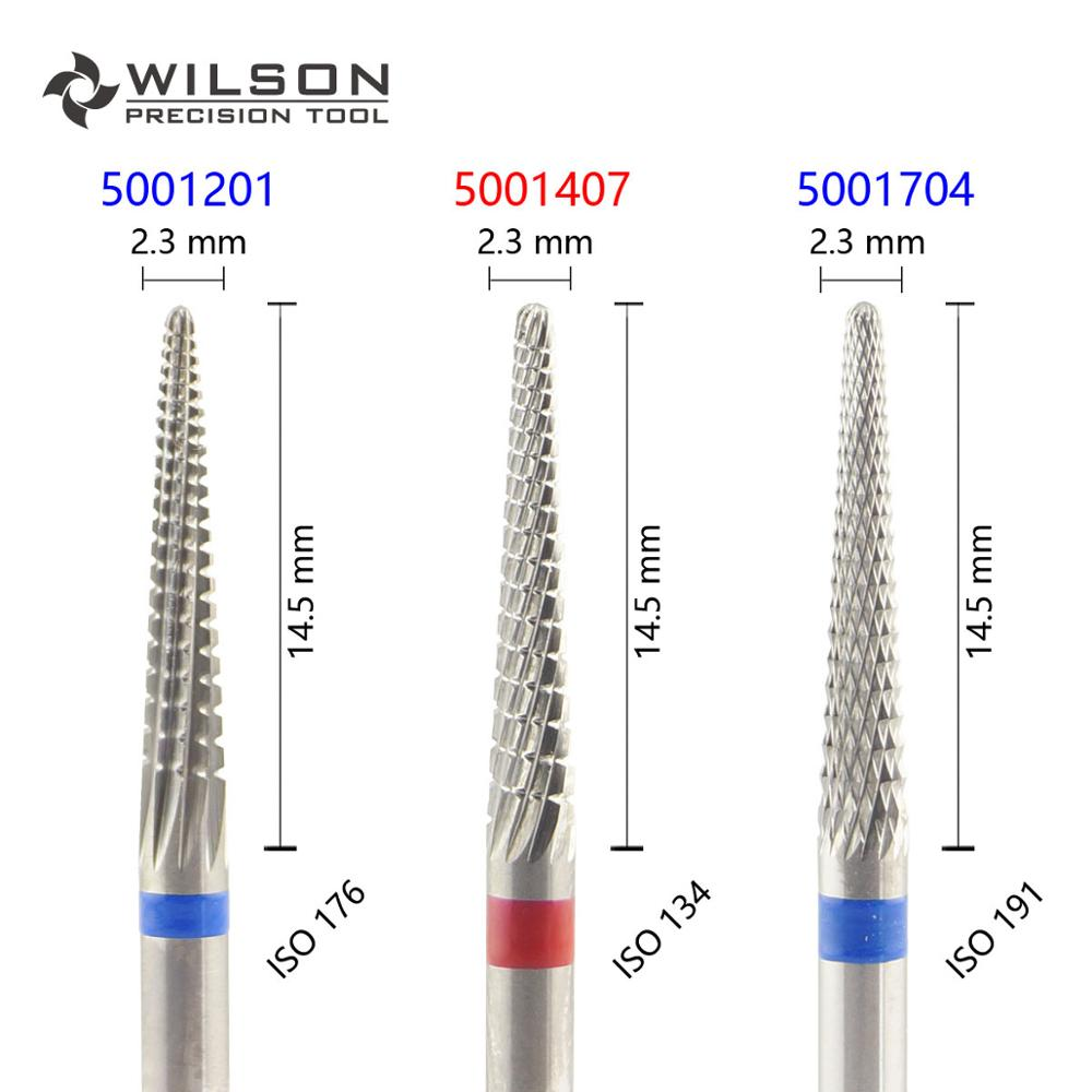 Conical Shape ISO 201 023 - Other Cut - HP WILSON Tungsten Carbide Dental Lab Burs 5001201 5001407 5001704