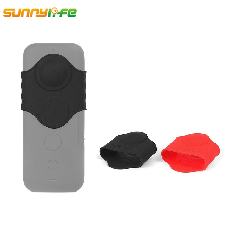 Insta360 One X Case Camera Lens 360 Camera Silicone Case Fisheye Lens Protector Cover for Insta 360 One X Accessories