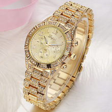 Geneva Rhinestone Crystal Watch
