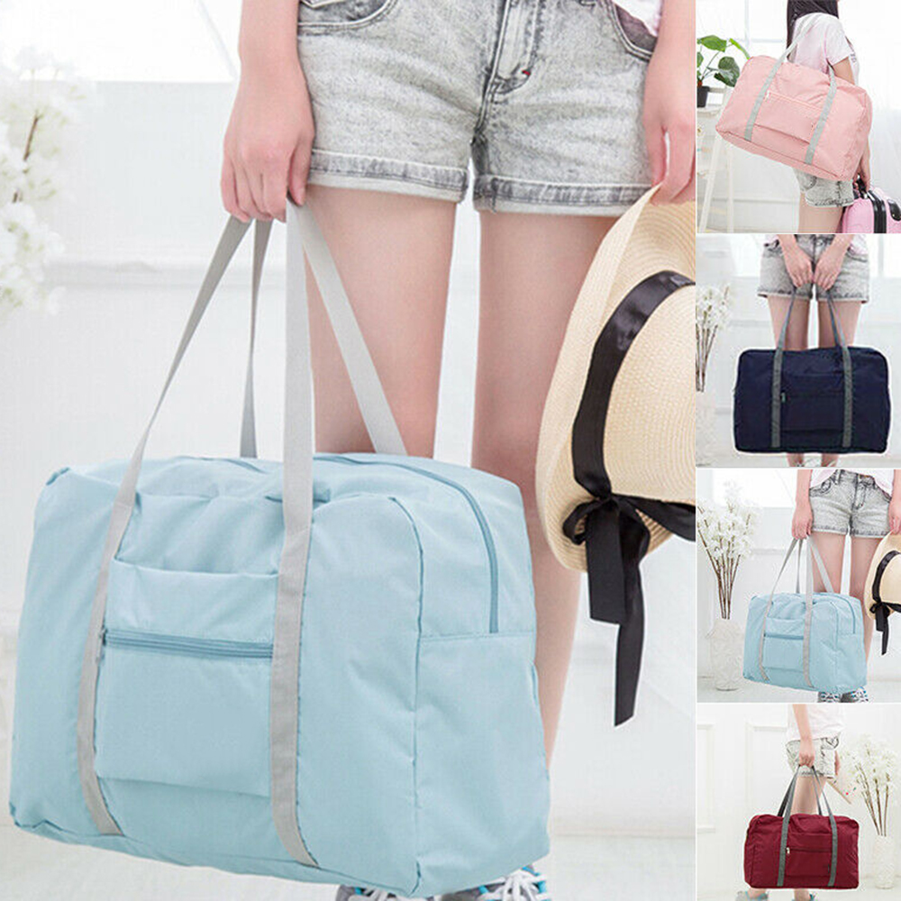 Folding Shoulder Handbag Shopper Reusable Tote Beach Shopping Travel Bag Hot