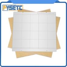 i3 Mk3 Mk52 Spring Steel Sheet Heat Bed Platform 3D Printer Printing Buildplate + 2pcs PEI For Prusa Mk2.5