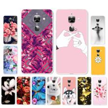 цена на Ojeleye DIY Patterned Silicon Case For Letv LeEco Le 2 Pro Case Soft TPU Cartoon Cover For letv S3 X20 Covers Anti-knock Shell