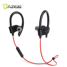 Azexi 56S sports bluetooth earphone wireless bluetooth4.1 Neckband Ear Hook headset Upgraded version for iPhone,Adriod Bluetooth