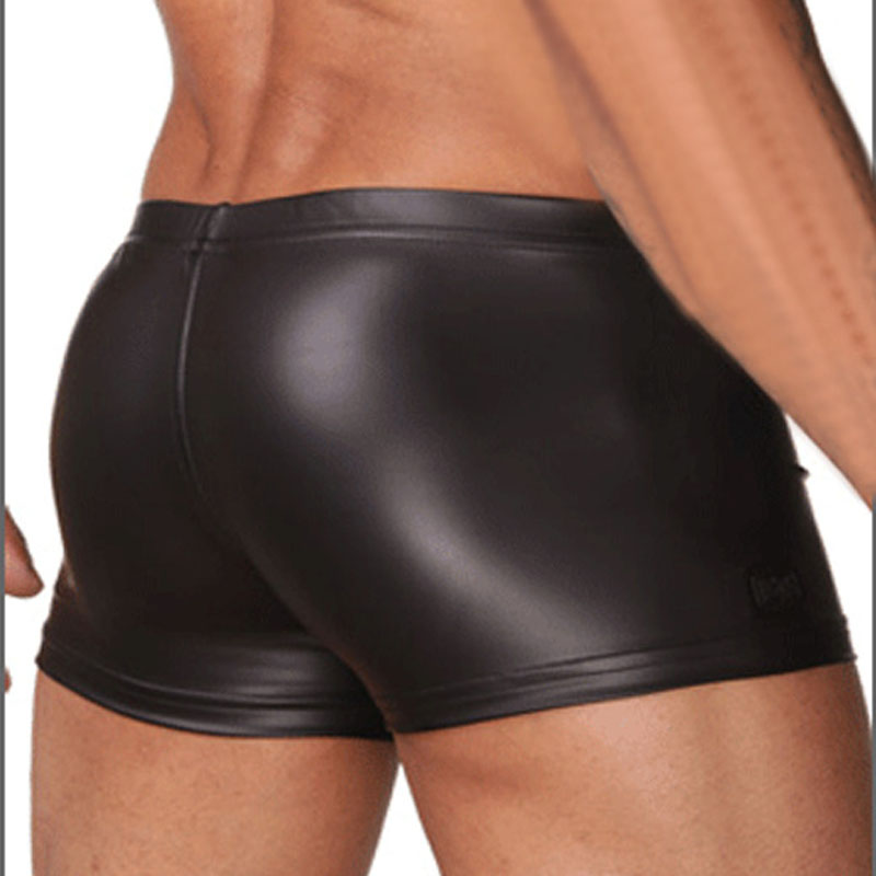 Man Boxers LeatherHombres Boxer For Leather Sexy Underwear SUzLqMpGjV