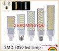 ZHAO led corn bulb SMD 5050 led lamp 180 degeree AC85-265V 7W 9W 12W 13W 15W 16W led lighting E27 G24 G23 led bulb