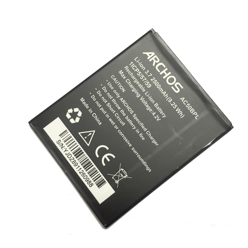 f2c4f73994dfe6 MaleCrane Strong Safe Cell Phone Battery Ac50bpl 2500mAh For ARCHOS 50b  Platinum Li polymer Batteries-in Mobile Phone Batteries from Cellphones ...