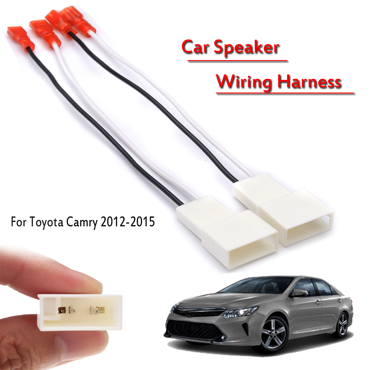 Swell Aliexpress Com Buy Pair Car Stereo Speaker Wiring Harness Plug Wiring 101 Relewellnesstrialsorg