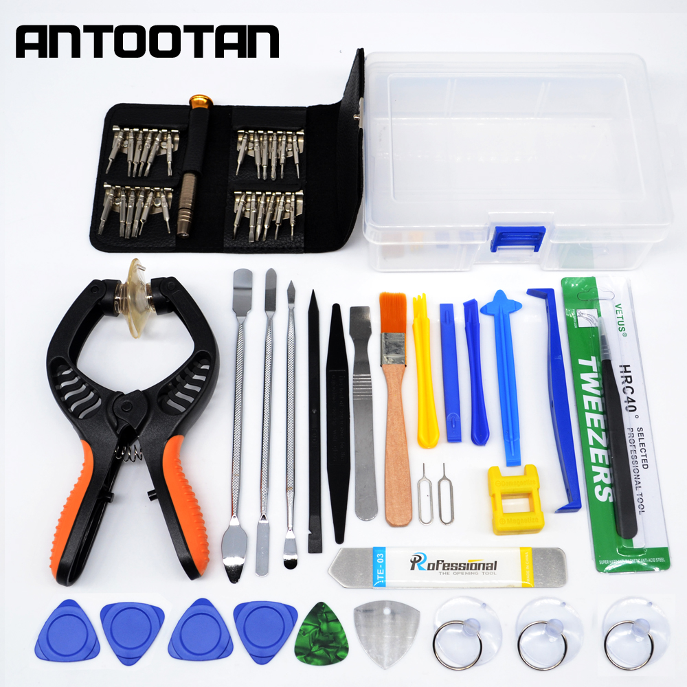 Mobile Phone Screen Opening Pliers Repair Tools Kit Screwdriver Pry Disassemble Tool Set for iPhone Samsung iPad screwdriver combination repair kit to disassemble the apple digital multifunction mobile phone screwdriver