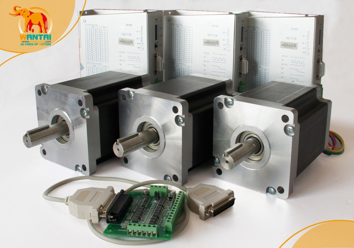 High quality 3 axis nema 42 stepper motor 3256oz in cnc for Controlling a stepper motor