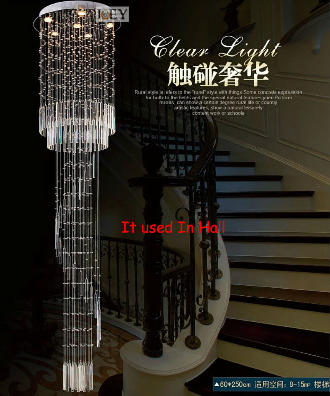 Hotel Foyer Lighting Uk : Modern crystal chandeliers simply lamp entry foyer lights