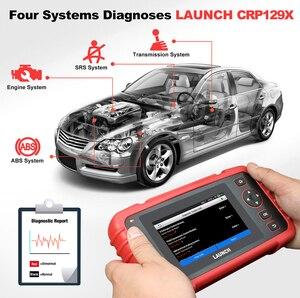 Image 2 - LANCIO X431 CRP129X OBD2 Lettore di codice automatico Scanner OBD Strumento diagnostico Auto ENG IN ABS Olio SRS SAS TMPS Strumento automobilistico PK CRP129E