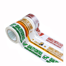 Company Packaging Adhesive Tape express box tape 10pcs custom free with your company logo/text/phone 45mm width 150m long