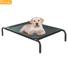Petshy Large Dog Bed Mat Summer Outdoor Indoor Breathable Mesh Elevated Beds Kennel Detachable Cool Sleep Rest Pet Cat Sofa