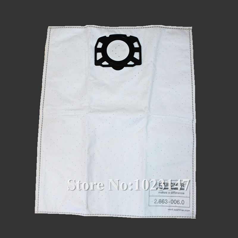 цены 1 piece Vacuum Cleaner Bags Fleece Dust Filter Bag Replacement for Karcher MV4 MV5 MV6 WD 4 WD 5 WD 6