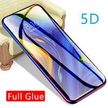 5d Full Glue Tempered Glass For Xiaomi Mi Max 3 Mix 3 Protective Glas Screen Protector