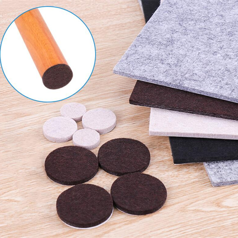 Thickened Table And Chairs Foot Pad Chair Stool Bench Mat Non-slip Table Leg Pads Wear Table Mats Mute Chair Mats 30*21cm