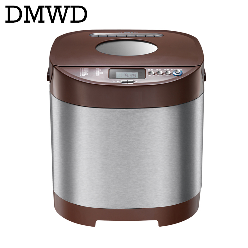 Automatic Multifunction Mini Bread Maker Intelligent User-Friendly Bread cake Yogurt Sour cream making Machine Breadmaker EU USAutomatic Multifunction Mini Bread Maker Intelligent User-Friendly Bread cake Yogurt Sour cream making Machine Breadmaker EU US
