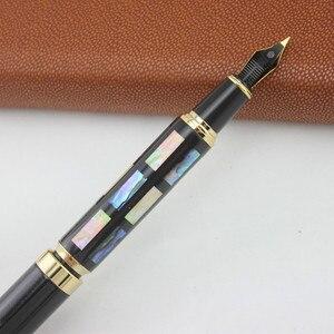 Image 3 - Jinhao Iraurita ปากกาปากกาปากกา Nib โลหะเต็มรูปแบบปากกา caneta tinteiro Vulpen