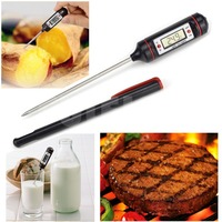 Kitchen Cooking Food Digital Thermometer Meat Probe Electronic BBQ Gas Oven Baby Milk Thermometer Baking Pastry