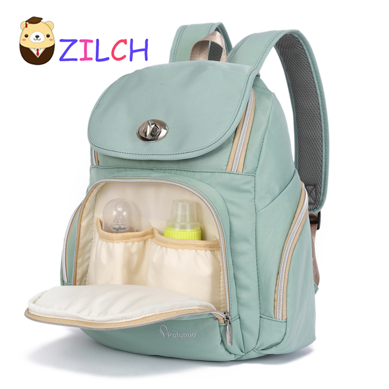 Big Capacity Nylon Multi-function Shoulder Mommy Package For Pregnant Women Mom Bag Diaper Bag