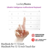 Nums Track Pad Number Touch Pad Smart Digital Wireless Numeric Keyboard For 2012 to 2015 13 /15 Inch Macbook Pro Macbook Air