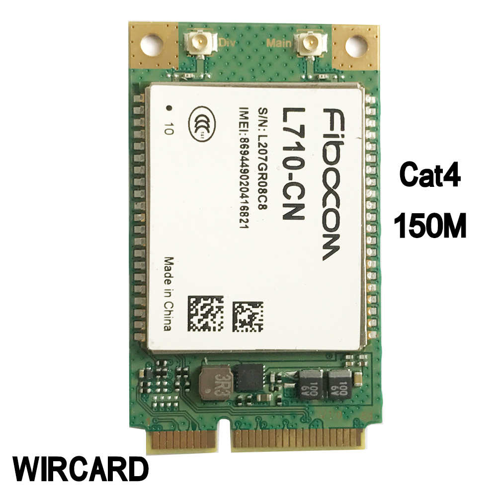 L710-CN 4G Card  TDD-LTE FDD-LTE Cat4 mini PCI-E LTE Module(China)