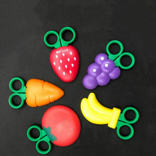 Fun Fruit Scissors Magnetic Children Banana Strawberry Grape Shape small scissors