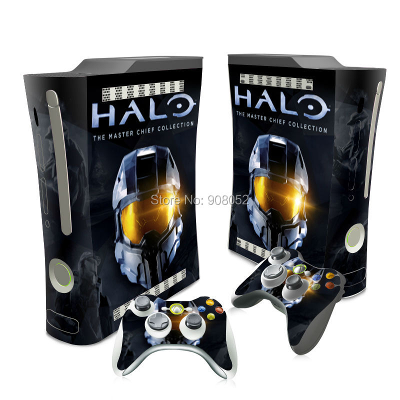 New Arrival Halo 5 For Xbox 360 Fat Console Game Skin