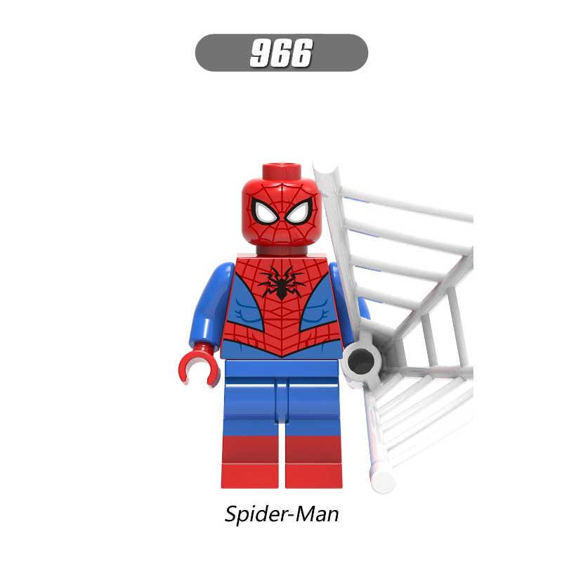 Venom Spider-Man Figura del Gatto Nero Hydro-Man Chameleon Morbius Shock Marvel Super Hero Building Blocks Set Modello giocattoli