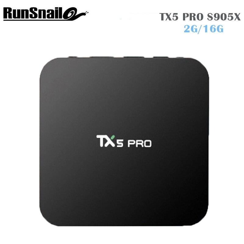 TX5 PRO Android 6.0 TV Box  Amlogic S905X Quad core Set top box 2G/16G Android TV Box HDMI H.265 WIFI Media Player Smart tv box android 6 0 tv box t95x amlogic s905x 2g 8g 2g 16g quad core 100lan wifi h 265 16 1 full pre installed media player box