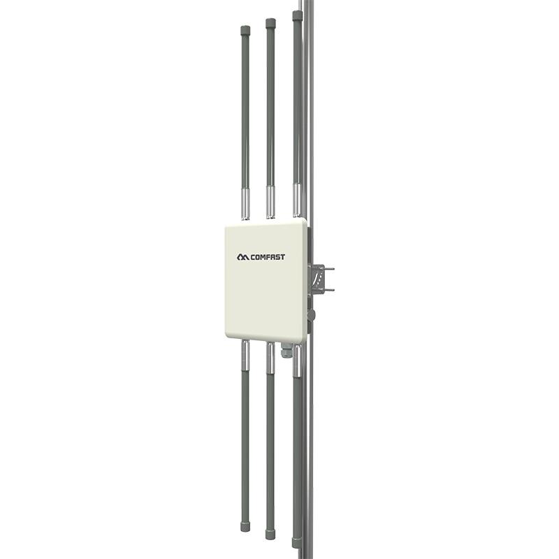 Image 4 - 1750 Мбит/с гигабитный порт PoE беспроводной Открытый AP маршрутизатор 802.11AC двухдиапазонный Wifi точка доступа AP 6 * 8dBi антенна WiFi крышка базовая станция-in Беспроводные маршрутизаторы from Компьютер и офис