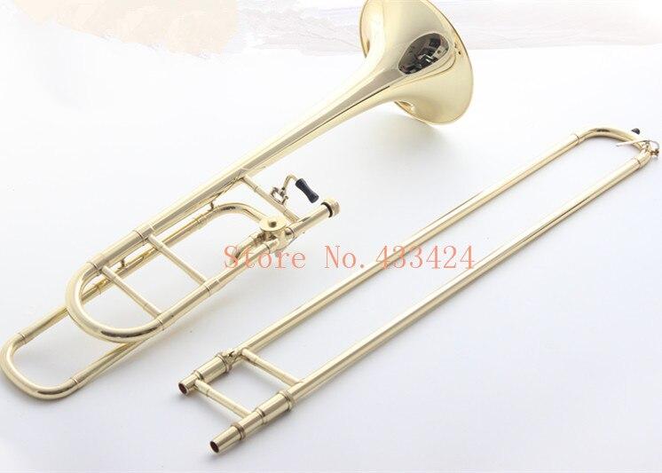 Bach Bb Tenor tono Variable trombón profesional F disparador bronce fosforoso VINTAGE