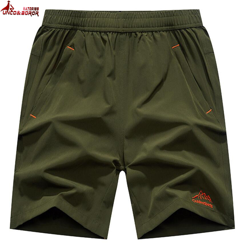 Plus Size 6XL,7XL,8XL,9XL Casual Shorts Men Elastic Waist Summer Man Breathable Quick-drying Gym Joggers Board Shorts Male