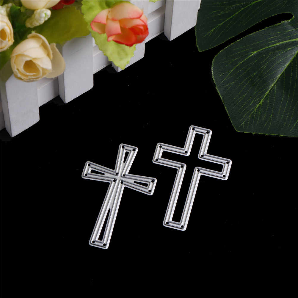 crosses Mixed Frame Metal Cutting Dies Stencils for DIY Scrapbooking/photo album Decorative Embossing DIY Paper Cards