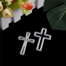 crosses Mixed Frame Metal Cutting Dies Stencils for DIY Scrapbooking/photo album Decorative Embossing DIY Paper Cards(China)