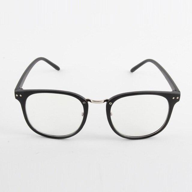 c2afa48963 Unisex Fashion Vintage Women Men Tide Optical Glasses Round Frame Eyewear  Eyeglasses Transparent Glass 4 color