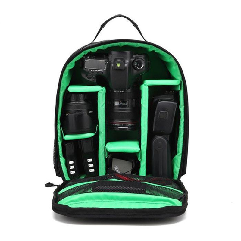 Waterproof DSLR Backpack Video Digital DSLR Camera Bag Multi-functional Outdoor Camera Photo Bag Case for Nikon Canon DSLR Lens (11)