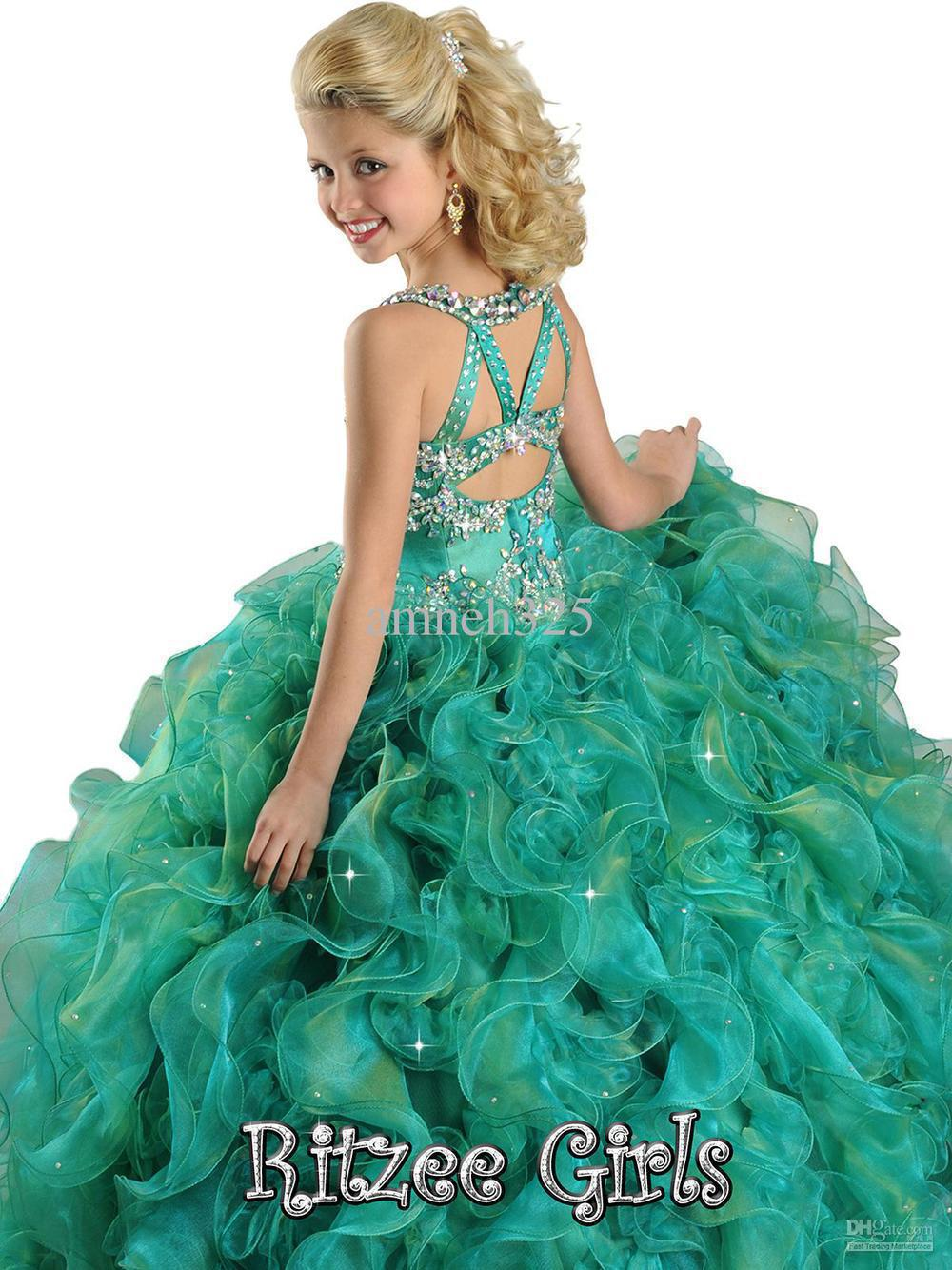 e5afe1e33e4e Hot Sale Beads Ball gown Beauty Kids Party Flower Girl Fresses Pageant Dress  Style-in Flower Girl Dresses from Weddings & Events on Aliexpress.com |  Alibaba ...