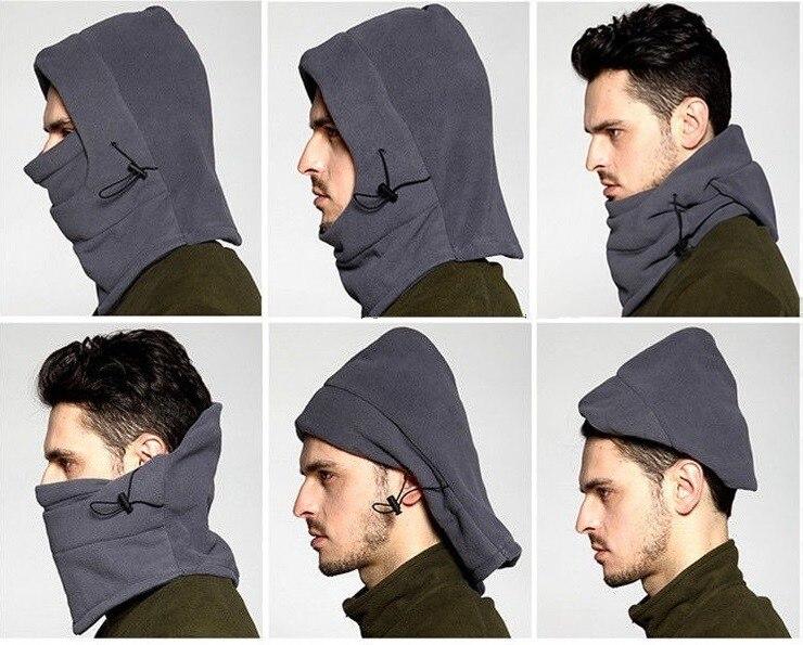 LongKeeper Kış Şapkalar Kadın Erkek Balaclava Şapka Kış - Elbise aksesuarları - Fotoğraf 6
