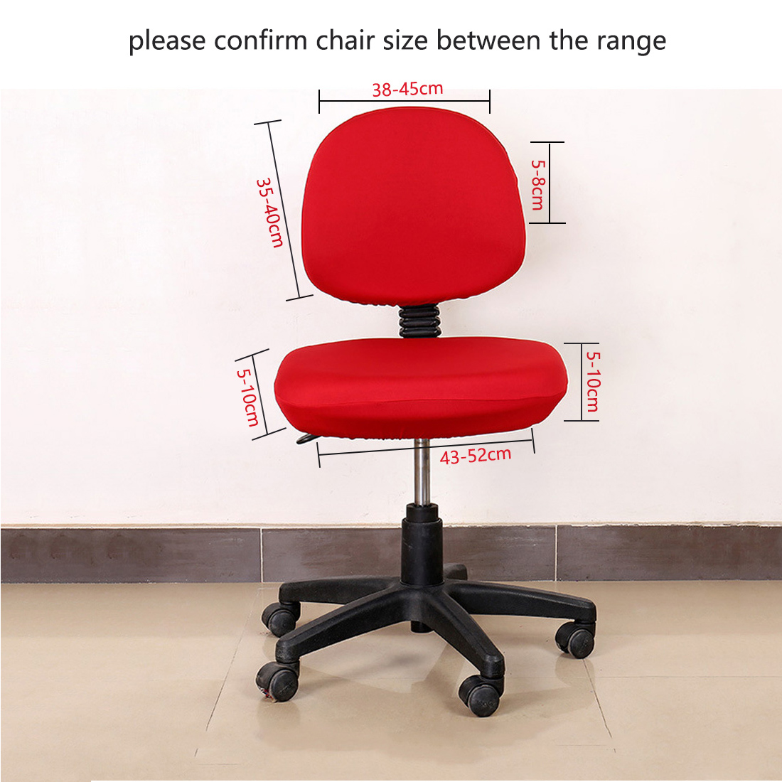 Elastic Chair Covers Made with Polyester Material For Office and Computer Chair in Universal Size 1