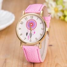 2018 Popular Leather Watch Fashion Style Elegant Classic outdoor Causal Sports Quartz Wristwatch