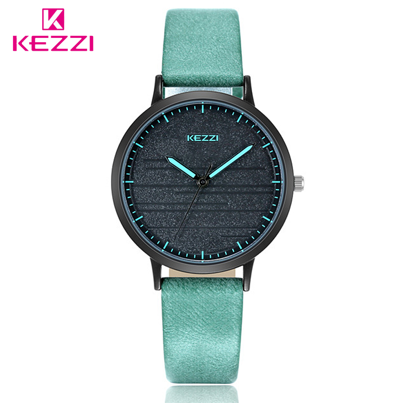 KEZZI Women Watches Fashion Quartz Watch Women Luxury Leather Strap Montre Femme Clock все цены