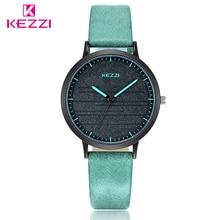 KEZZI Women Watches Fashion Quartz Watch Women Luxury Leather Strap Montre Femme Clock