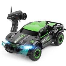 Мини-автомобили 25 км/ч Высокое скорость дистанционное управление LED 4CH автомобиля игрушки с Светодиодное освещение игрушечные лошадки для обувь мальчико