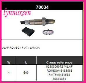 Bosch 258006193 Lambdasonde